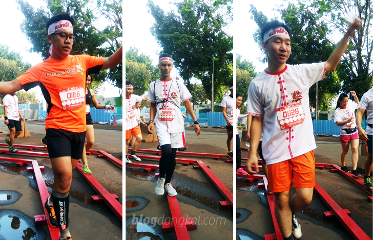 Keseruan Kungfu Run 2017 di Daan Mogot City